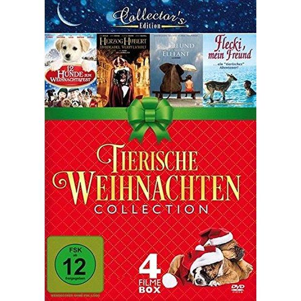 tierische weihnachten collection 4 filme box dvd neu. Black Bedroom Furniture Sets. Home Design Ideas